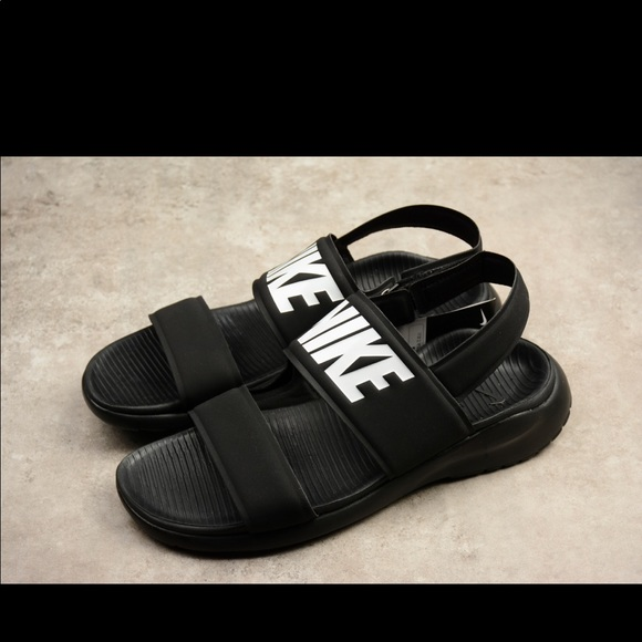 nike sandals with strap in the back